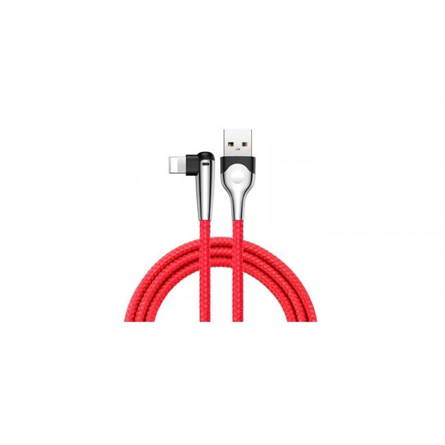 Baseus Game USB Cable for Lightning 2.4A 1M, Red - CALMVP-D09