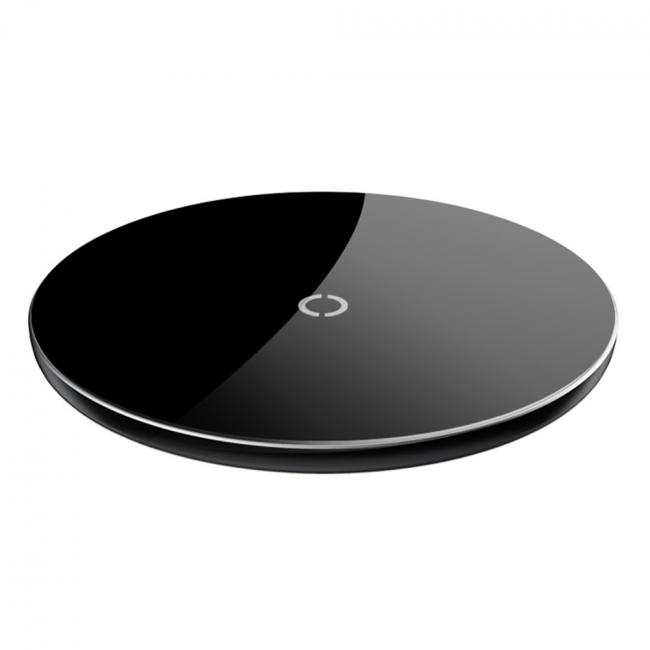 Baseus Simple Wireless Charger 10W, Black - CCALL-JK01
