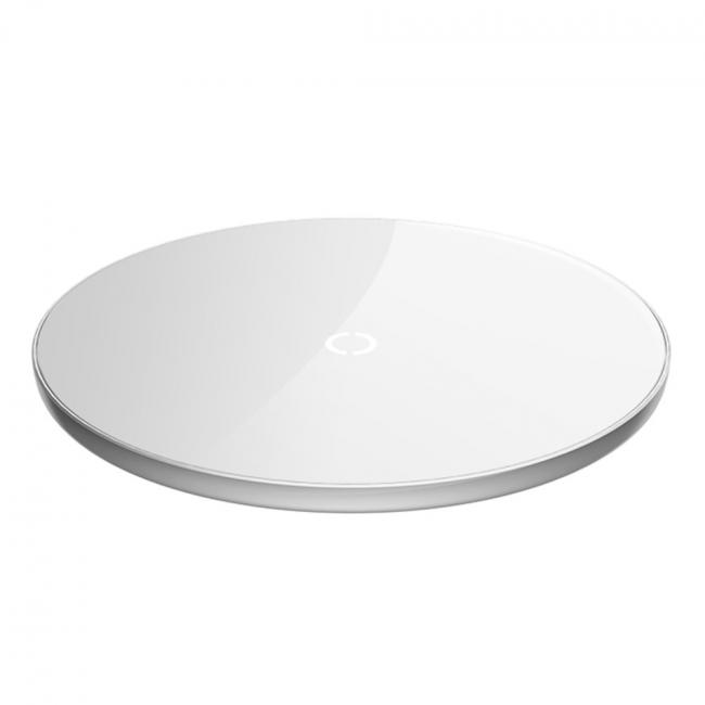 Baseus Simple Wireless Charger 10W, White - CCALL-JK02