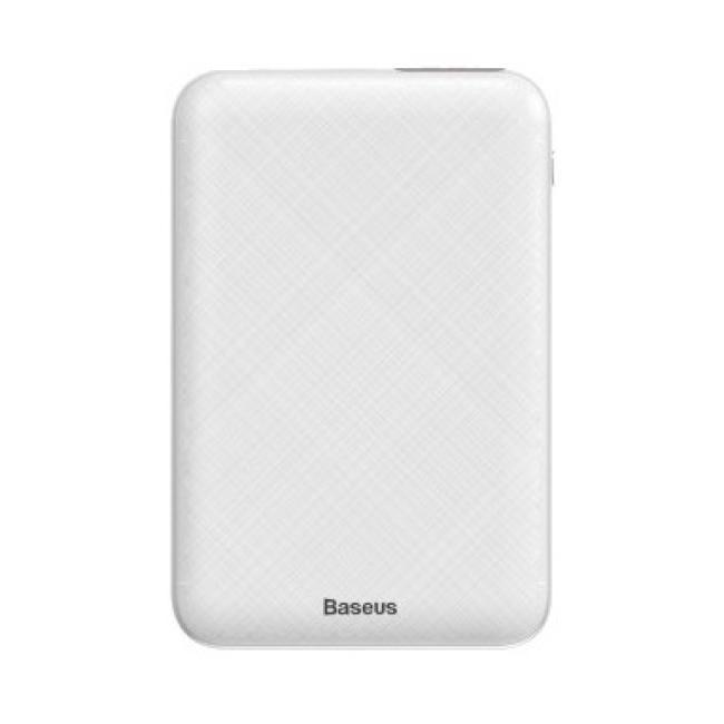 Baseus Mini S Digital Display 10,000mAh Power Bank, White - PPALL-XF02