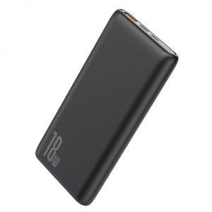 Baseus Bipow Quick Charge 10,000mAh Power Bank PD+QC, Black - PPDML-01