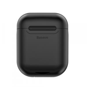 Baseus Wireless Charger for Airpods, Black - WIAPPOD-01