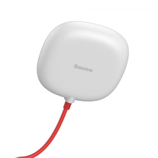 Baseus Suction Cup Wireless Qi Charger, White - WXXP-02