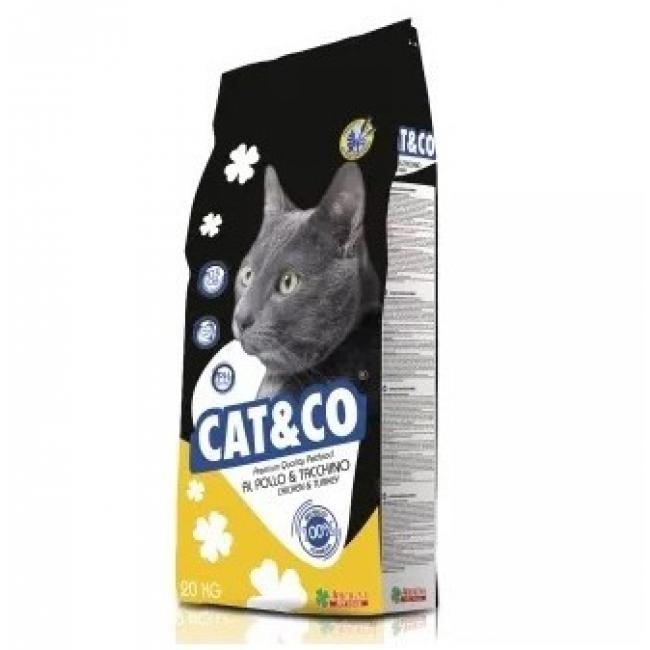 Cat & Co Premium Cat Food Chicken & Turkey 20kg - AAZCACO011