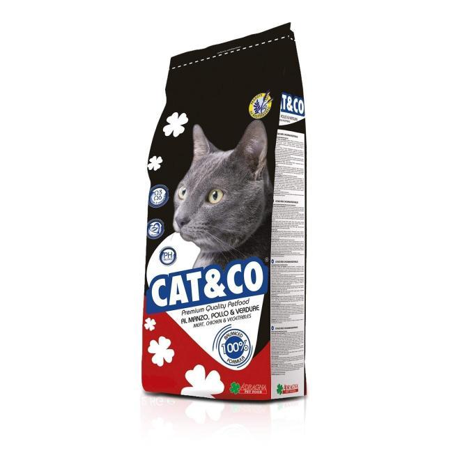 Cat & Co Premium Cat Food Beef 20kg - AAZCACO013