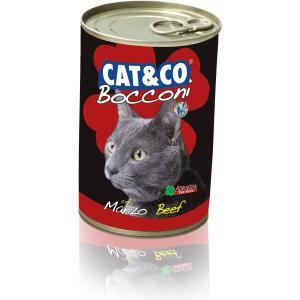 Cat & Co Beef Chunks Wet Cat Food 405gr - Carton of 24 pcs. - AAZCACO015