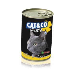 Cat & Co Pate Chicken & Turkey Wet Cat Food 405gr - Carton of 24 pcs. - AAZCACO018