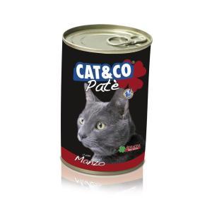 Cat & Co Pate Beef Wet Cat Food 405gr - Carton of 24 pcs. - AAZCACO020