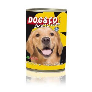 Dog & Co Chunks Chicken and Turkey Wet Dog Food 405gr - AAZDOCO009