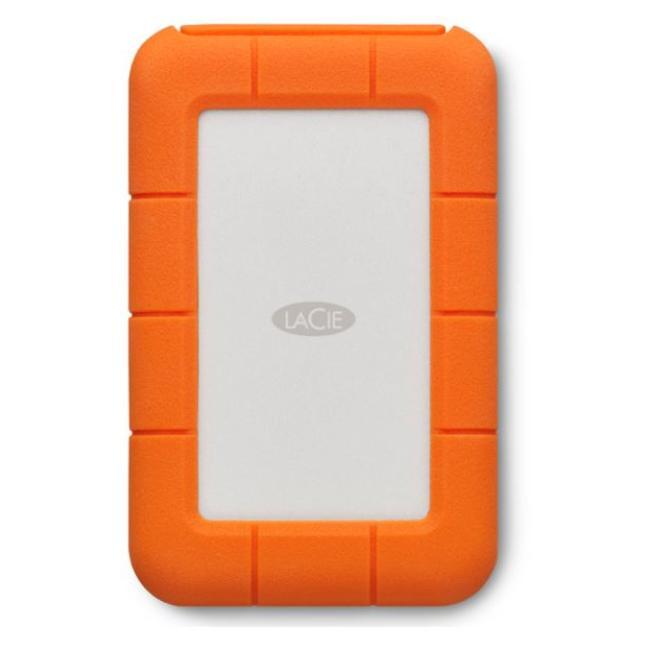 LaCie Rugged 4TB USB C & USB3 Hard Drive - AC1713