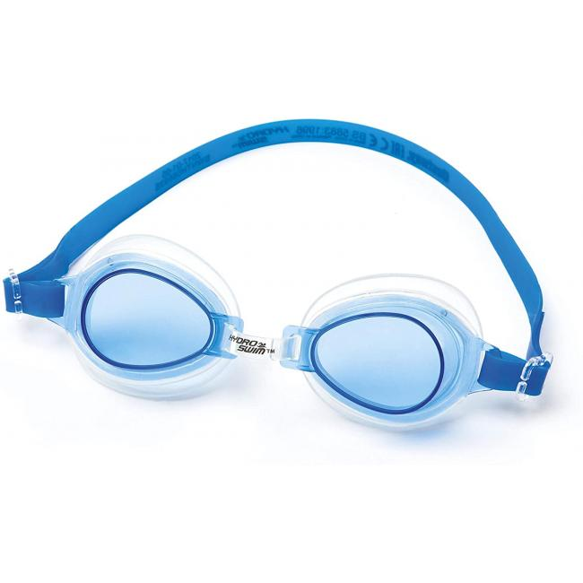 Bestway High Style Swimming Goggles, Blue - 21002-B