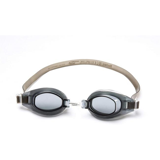 Bestway Crystal Clear Swimming Goggles - Black, 21049-BL