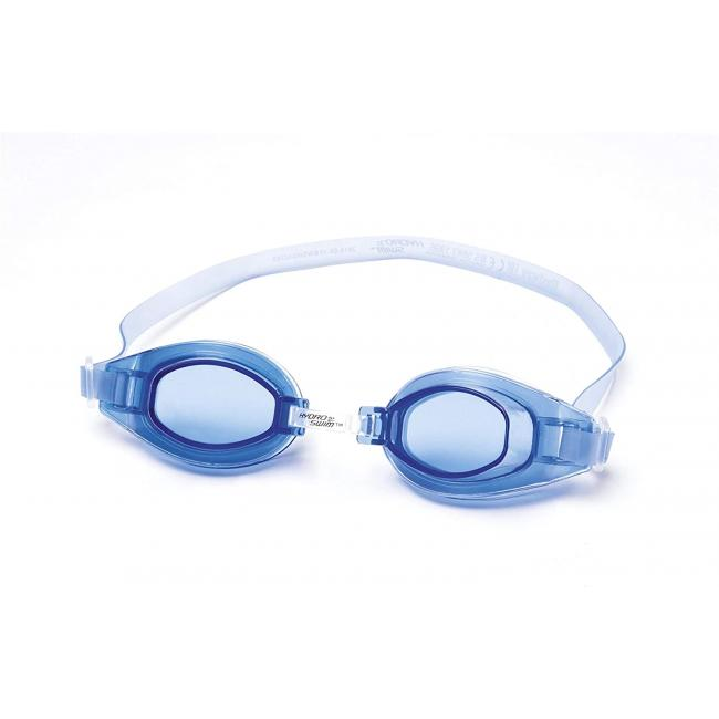 Bestway Crystal Clear Swimming Goggles - Dark Blue, 21049-DB