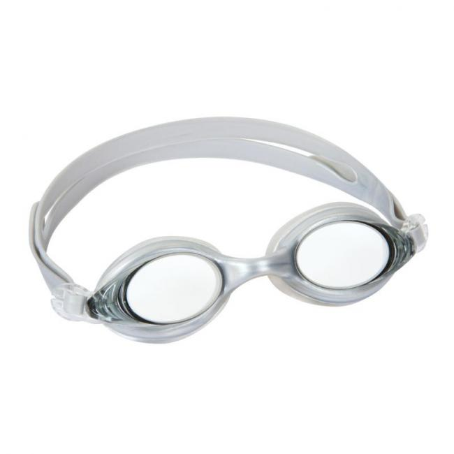 Bestway Inspira Swimming Race Goggles, White - 21053-WH