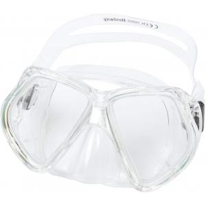 Bestway Adult OmniView Dive Mask, White -22016-WH