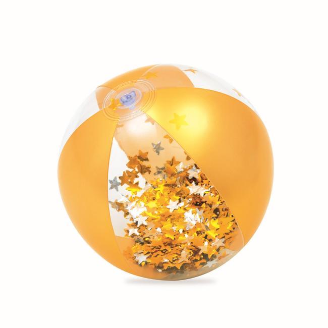 Bestway Glitter Fusion Beach Ball, Orange - 31050-O