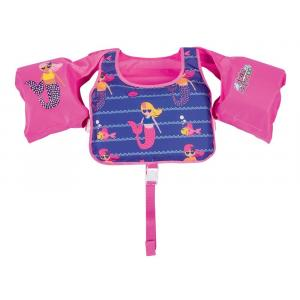 Bestway Swimming Vest with Sleeves for Girl'ss, Pink - 32174-P