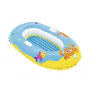 Bestway Happy Crustacean Junior Boat, Blue - 34009-01