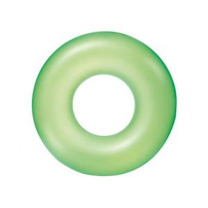 Bestway Frosted Neon Swim Ring, Green - 36025-03