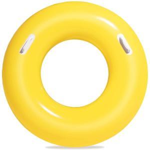 Bestway 36inch Swim Tube, Yellow - 36084-02