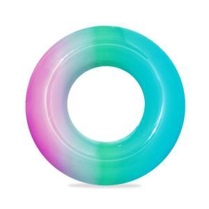 Bestway Rainbow Swim Ring 91cm - Bluepink - 36126-BP