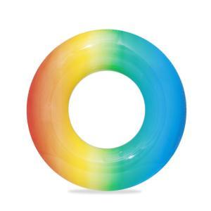 Bestway Rainbow Swim Ring 91cm - Blueyellow - 36126-BY