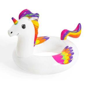 Bestway Fantasy Unicorn Swim Ring 119 cm x 91 cm - 36159