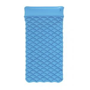 Bestway Inflatable Float'N Roll Air Mat, Blue - 44020-BL