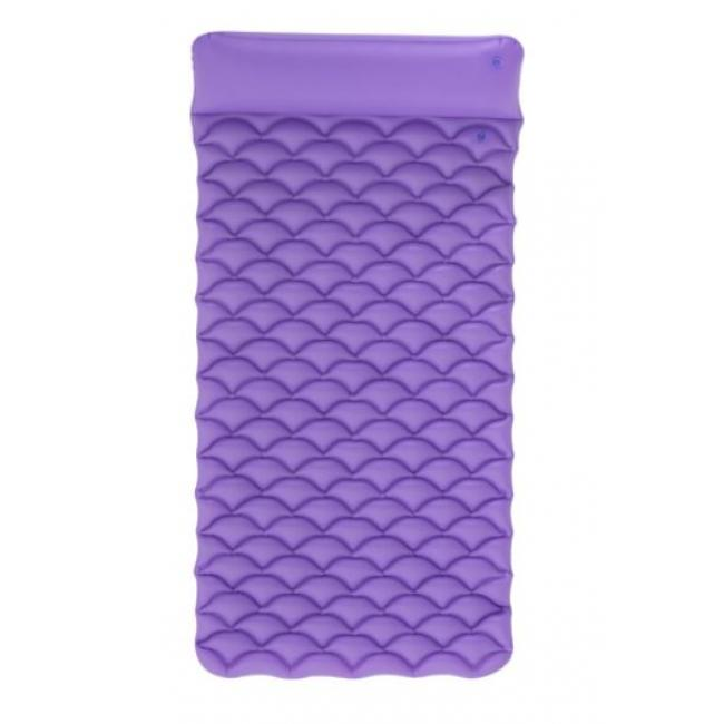 Bestway Inflatable Float'N Roll Air Mat, Purple - 44020-P