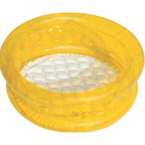 Bestway Round Kiddie Pool, Yellow - 51112-02