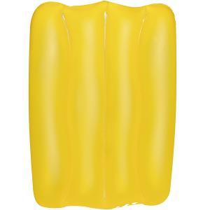 Bestway 15 x 10 x 2-inch Wave Pillow, Yellow - 52153-Y