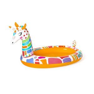 Bestway Groovy Giraffe Sprayer Pool, 2.66m x 1.57m x 1.27m - 53089