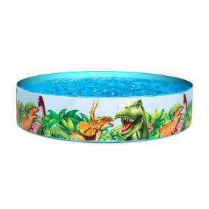 Bestway Dinosaurs Fill N Fun Kiddie Pool - 1.83 m X 38 cm, - 55022