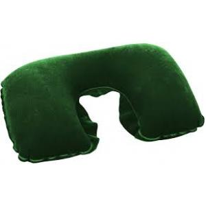 Bestway Inflatable Travel Pillow, Green - 67006-G
