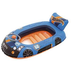 Bestway Hot Wheels Inflatable Speed Boat for Kid's - 93405
