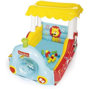 Bestway Inflatable Toy Train Ball Pit with 25balls - 93537