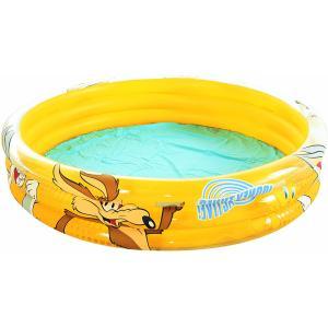 Bestway Looney Tunes 3-Ring Paddling Pool 152 x 30cm - 97020