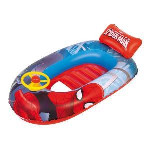 Bestway Spiderman Beach Boat, 1.12m x 71cm - 98009