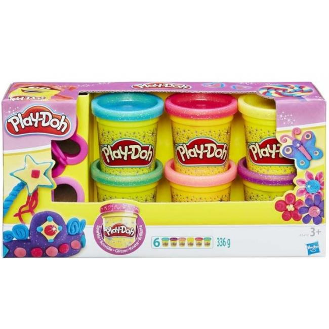 Hasbro Play-Doh Sparkle Compound Collection - A5417