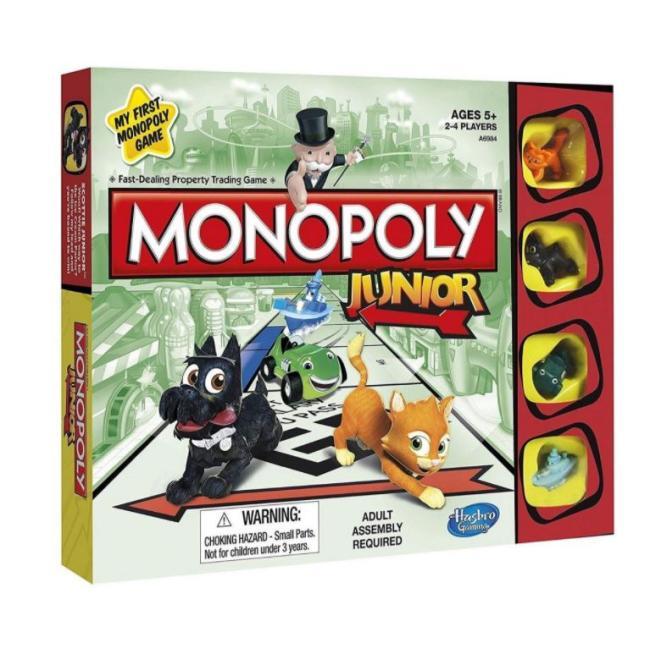 Hasbro Monopoly Junior Board Game (EN) - A6984E