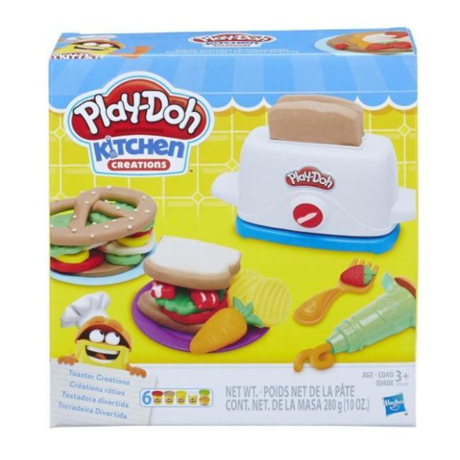 Hasbro Play-Doh Kitchen Creations Toaster Creations - E0039