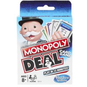 Hasbro Monopoly Deal (MENA) Card Game - E3113