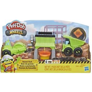 Hasbro Play-Doh Wheels Gravel Yard Construction Toy - E4293