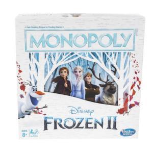 Hasbro Monopoly Game: Disney Frozen 2 Edition Board Game - E5066