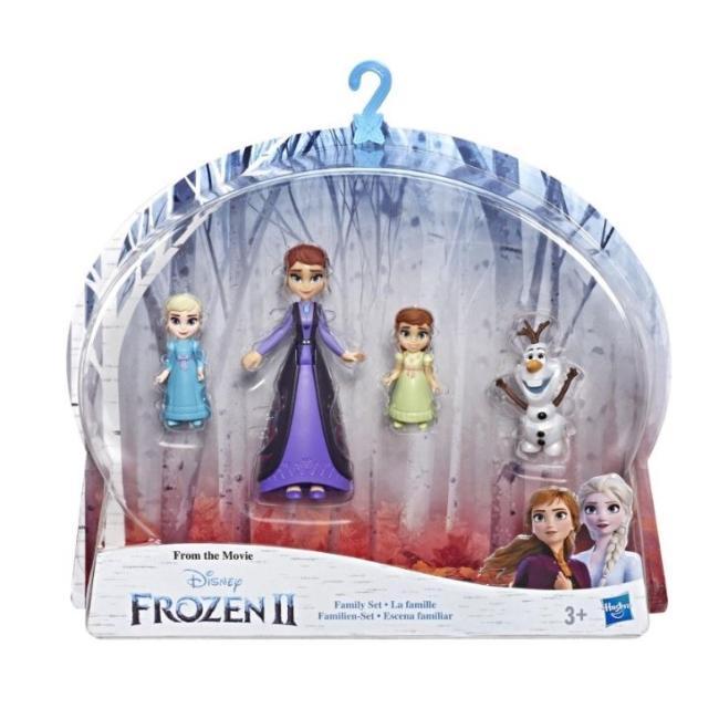 Hasbro Disney Frozen II Queen Iduna, Anna, Elsa, and Olaf - E5504