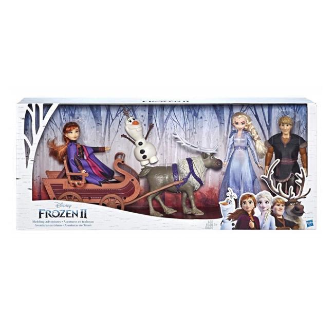 Hasbro Disney Frozen II Character Multipack With Sledding Adventures - E5517