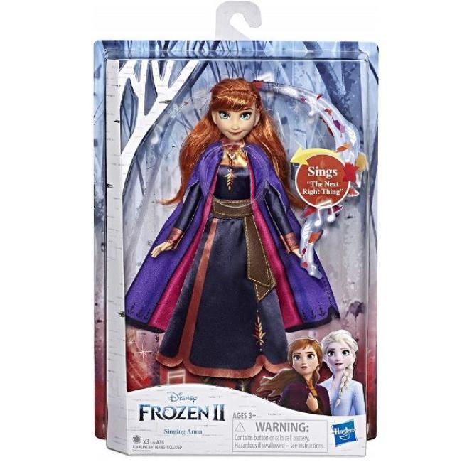Hasbro Disney Frozen II Singing Doll Anna - E6853