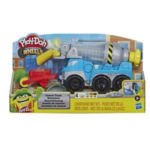 Hasbro Play-Doh Wheels - Cement Truck Toy - E6891