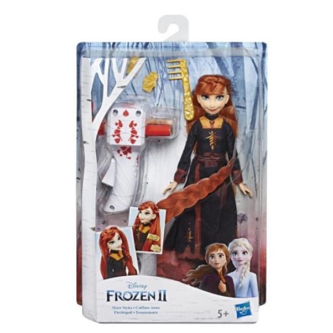 Hasbro Disney Frozen II Sister Styles Anna With Long Hair Doll - E7003