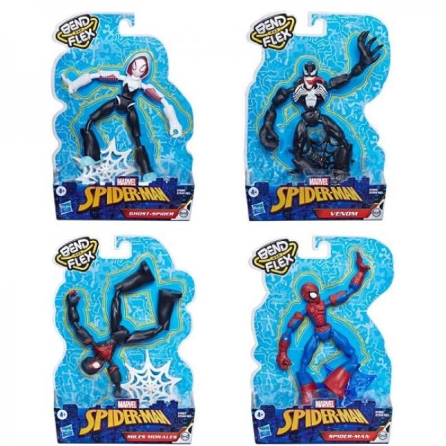 Hasbro Marvel Spider-Man Bend & Flex Figure Assortment - E7335